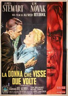 """""""Vertigo"""" (Italian poster)"""