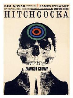 """Vertigo"" (Polish poster)"