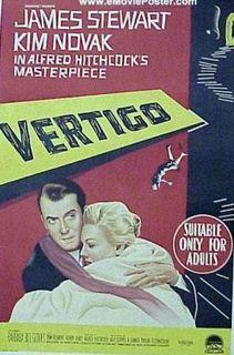 """""""Vertigo"""" (Australian poster)"""
