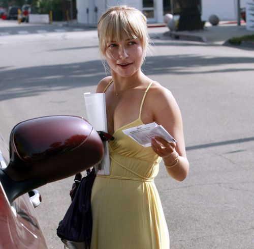 Hayden Panettière, September 14, 2008.
