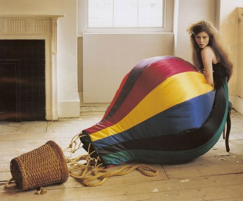 Hot-air balloon skirt
